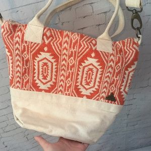 Prana Orange Print Bag